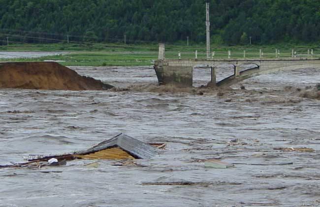 村鎮污水處理專家簡述山洪災害的特點